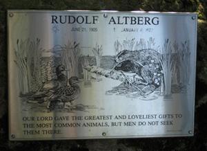 Rudolf Altberg Plaque